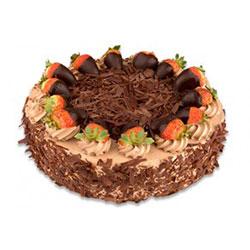 Strawberry and chocolate temptation cake thumbnail