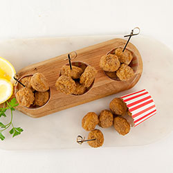 Southern style popcorn chicken cup thumbnail