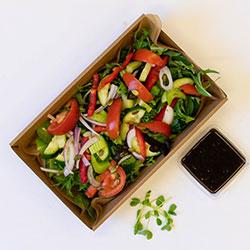 Raw energy garden salad thumbnail