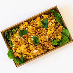 Vitamin rich spiced cauliflower salad thumbnail