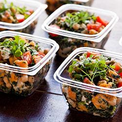 Chickpea, kale and roast pumpkin salad thumbnail