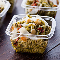 Penne pasta with roast vegetables thumbnail