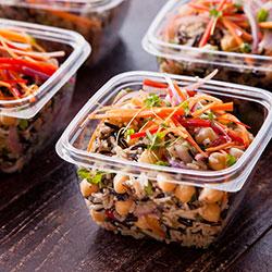 Wild rice, quinoa, sweet currants and shredded carrots thumbnail
