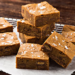 Malteser and salted caramel brownie thumbnail