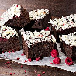 Raspberry brownie thumbnail