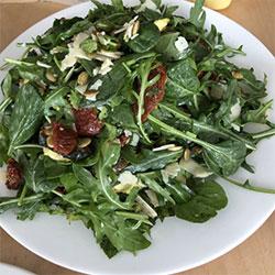 Grilled zucchini salad thumbnail