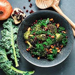 Grilled greens salad thumbnail