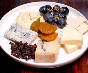 Mixed cheese and dip platter thumbnail