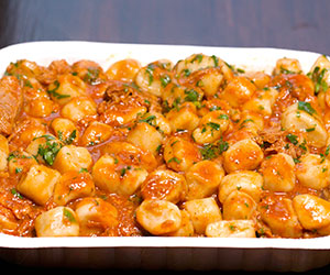 Gourmet pasta lunch thumbnail