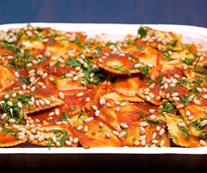 Spinach and ricotta ravioli thumbnail