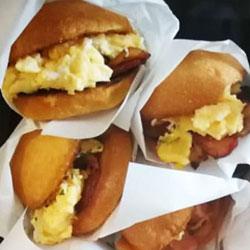 Breakfast brioche slider thumbnail