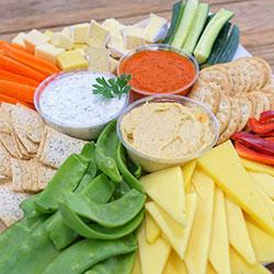 Dip and cheese platter thumbnail
