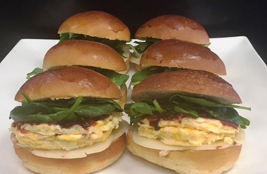 Vegetarian egg brioche thumbnail