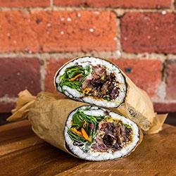 Bulgogi ribs sushi burrito thumbnail