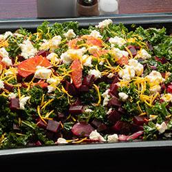 Beetroot and kale salad thumbnail