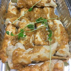 Satay chicken skewers thumbnail