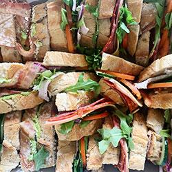 Meaty rustic sandwiches box thumbnail