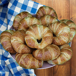 Classic French butter croissant goody box thumbnail