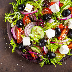 Greek goddess salad box thumbnail