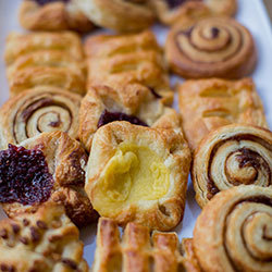 Assorted danishes thumbnail