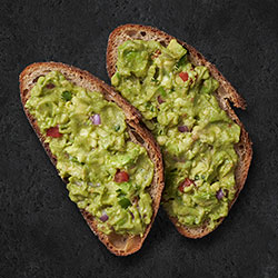 Guacamole on toast thumbnail