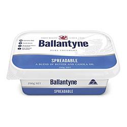 Spreadable butter - Ballantyne - 250g thumbnail