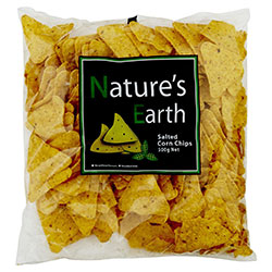 Corn chips - Natures Earth - 500g thumbnail