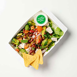 Mexican chicken salad thumbnail