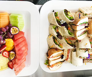 Mixed bread and fruit platter package thumbnail