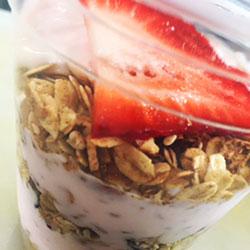 Fruit flavoured yoghurt cup - 120 ml thumbnail