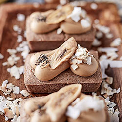 Banana and coconut teff cake thumbnail