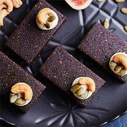 Orange and cacao nut bar thumbnail