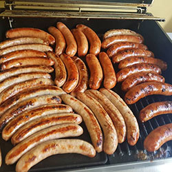 BBQ free-range meat sausages thumbnail