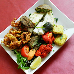 Vegetarian mix platter thumbnail