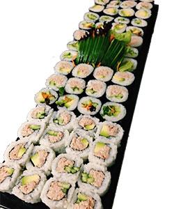 Value sushi rolls platter thumbnail