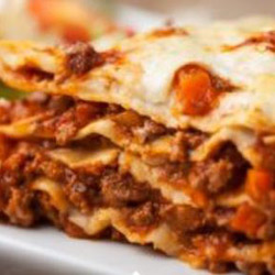 Beef lasagna - serves 6 to 8 thumbnail