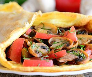 Breakfast omelette thumbnail