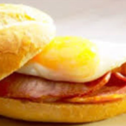Bacon and egg roll thumbnail