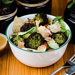 Falafel mezze salad thumbnail