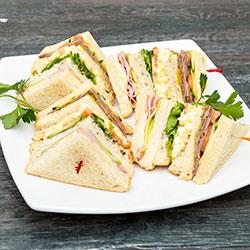 Classic triangle sandwiches thumbnail