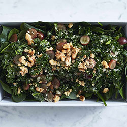 Kale, dried cranberries and coconut salad thumbnail