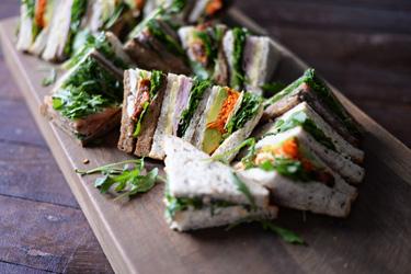 Wholesome gourmet sandwiches thumbnail