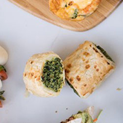 Spinach and ricotta rolls - mini thumbnail