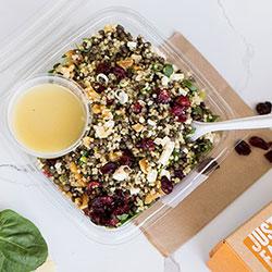 Lentil and quinoa salad thumbnail