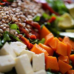 Feta and pumpkin salad thumbnail