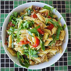 Penne pasta salad thumbnail