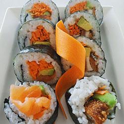 Sushi rolls thumbnail