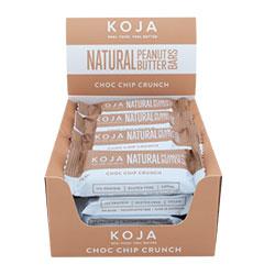 Natural peanut butter bar - Choc chip crunch thumbnail