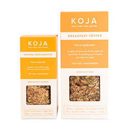 Natural iron booster - Fig and hazelnut breakfast topper thumbnail