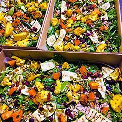Buckwheat and roasted vegetables salad thumbnail